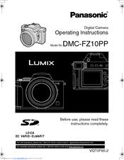 panasonic lumix dmc fz10 operating instructions manual pdf download rh manualslib com panasonic lumix dmc-fz10 manual pdf lumix dmc-fz10 manual