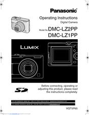 panasonic dmc lz2 lumix digital camera manuals rh manualslib com Newest Panasonic Lumix Camera Newest Panasonic Lumix Camera