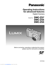 panasonic lumix dmc zs6 manuals rh manualslib com Lumix DMC ZS6 Manual Sony Cyber-shot Battery Charger