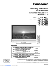 Panasonic TC-32LX60 - 32