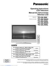 panasonic tc 32lx60 32 lcd tv manuals rh manualslib com panasonic viera user manual pdf panasonic viera user manual pdf