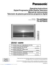 panasonic viera th 42pd60 manuals rh manualslib com Panasonic Plasma Problems manual tv plasma panasonic viera 42