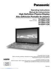 panasonic viera 58 plasma manual