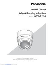 PANASONIC WV-NF284 NETWORK CAMERA DRIVERS FOR WINDOWS 7