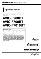 pioneer super tuner iiid avic f700bt manuals rh manualslib com Pioneer AVIC- F900BT Wiring-Diagram pioneer avic-f700bt service manual