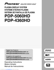 pioneer pdp r06u manuals rh manualslib com pioneer plasma display manual pioneer plasma 50 inch tv manual