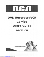RCA DRC8320N User Manual