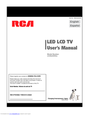 RCA LED42A55R120Q User Manual
