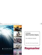 raymarine a series a70d manuals rh manualslib com Raymarine Chartplotter Fishfinder