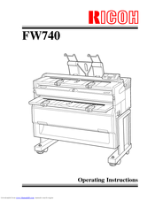 Ricoh Fw770 Manuals Manualslib
