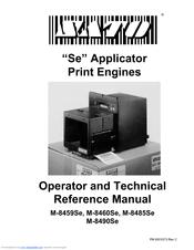 sato m 8485se operator and technical reference manual pdf download rh manualslib com  sato m8485se service manual