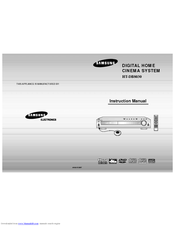 Samsung HT-DB8030 Instruction Manual