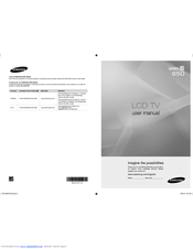 Samsung LN40B650T1F User Manual