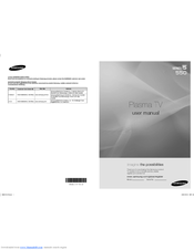 Samsung PN50A550 User Manual