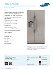 samsung rsg257aars manuals rh manualslib com Samsung RSG257 Parts Samsung RSG257AARS Water Filter