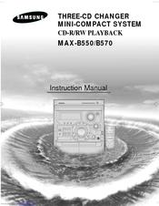 Samsung Max-b570 инструкция - фото 8