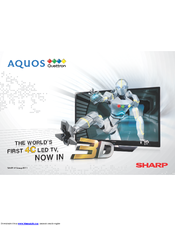 sharp aquos lc 32l400m manuals rh manualslib com