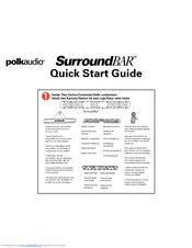 polk audio surroundbar manuals rh manualslib com polk audio sound bar manual 6000 polk audio soundbar troubleshooting