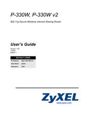 Zyxel Communications P-330W V2 - V1 90 Manuals