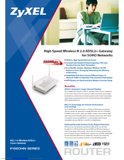 ZyXEL Communications P-660HN Brochure