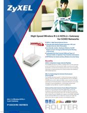 ZyXEL Communications P-660HN Brochure