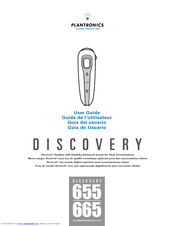 plantronics discovery 655 manuals rh manualslib com Plantronics Instruction Manual Plantronics Instruction Manual