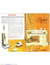 Singer stylist 834 manual.
