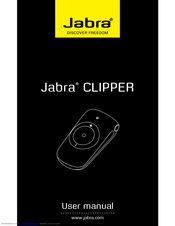 Hfs001 jabra cruiser bluetooth® car kit user manual userman gn.