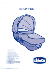 chicco enjoy fun nacelle manuals. Black Bedroom Furniture Sets. Home Design Ideas