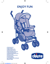 chicco enjoy fun manuals rh manualslib com Chicco Echo Stroller Chicco KeyFit 30 Stroller