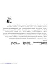 altec lansing inmotion classic imt620 manuals rh manualslib com Altec Lansing 251 Speakers Manual Altec Lansing Subwoofer Manual