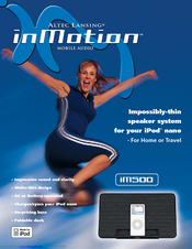 altec lansing inmotion im500 manuals rh manualslib com Example User Guide User Training
