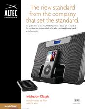 altec lansing inmotion im600 usb sell sheet manuals rh manualslib com Altec Lansing InMotion with Remote Altec Lansing InMotion with Remote