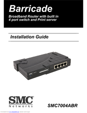 SMC NETWORKS 7004ABR INSTALLATION MANUAL Pdf Download