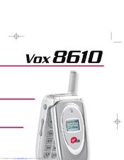 audiovox vox 8610