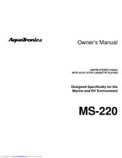 Audiovox AquaTronics MS-220 Manuals