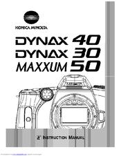 Konica Minolta MAXXUM 50 Manuals