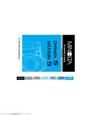 minolta dynax 5 manuals rh manualslib com Dynax America minolta maxxum 5 user manual