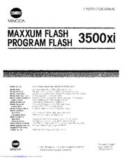 minolta maxxum flash 3500xi part 2 manuals rh manualslib com