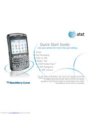 blackberry curve 8310 at t manuals rh manualslib com BlackBerry Phones AT&T Go Phones