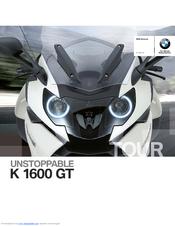Bmw K 1600 Gt Manuals