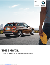 Bmw X1 Product Catalogue Product Catalog Pdf Download