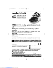 morphy richards intellidome replacement parts manual pdf download rh manualslib com