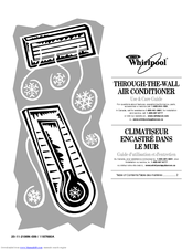 WHIRLPOOL 1187680 Use And Care Manual