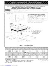 kenmore elite induction cooktop manual