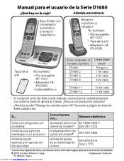 uniden d1680 3 manuals rh manualslib com AT&T DECT 6.0 Manual Uniden-DECT 6.0 Troubleshooting