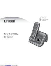 uniden dect2882 series manuals rh manualslib com Uniden Model Tr620-2 Manual Uniden ManualsOnline
