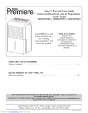 danby premiere ddr7009ree owner s use and care manual pdf download rh manualslib com Danby DDR5009REE Dehumidifier Manual Danby 70 Pint Dehumidifier Manual