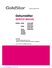 goldstar dh50e manuals rh manualslib com Gold Star Goldstar Dehumidifier DH40