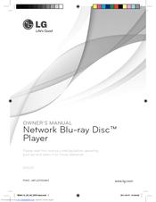 LG BD630 Owner's Manual